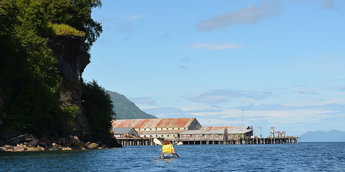 Paddling back to the SOA Cannery